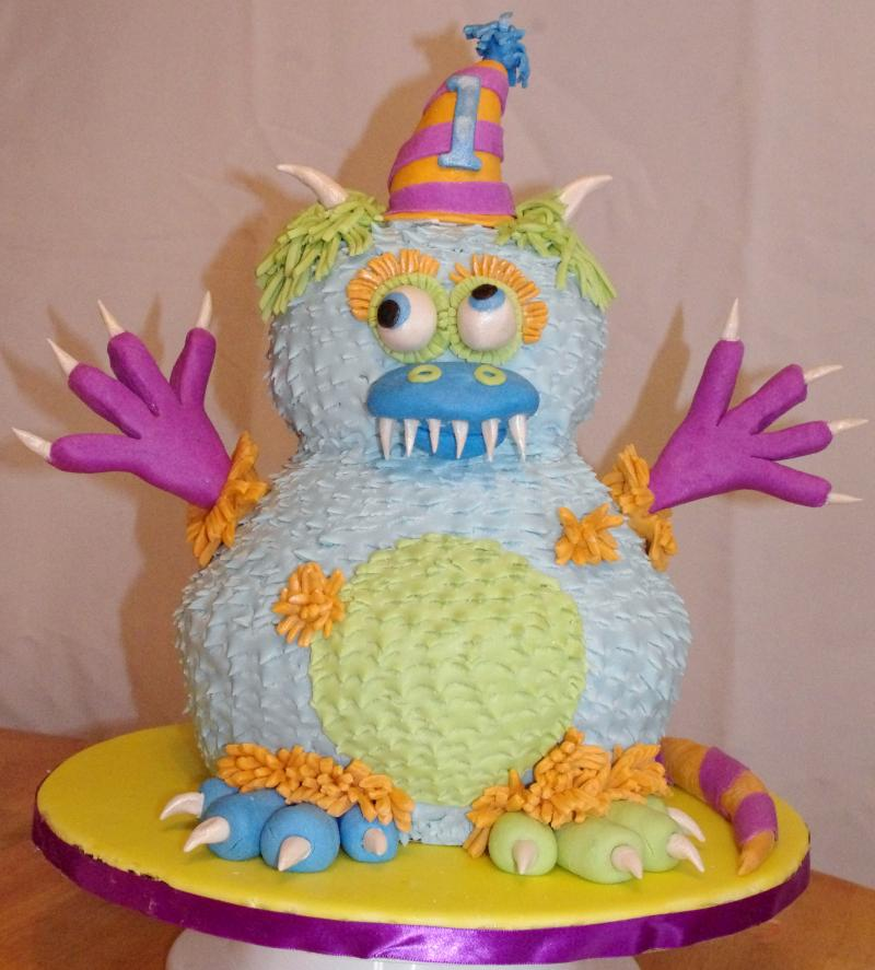 Childrens Monster Cake